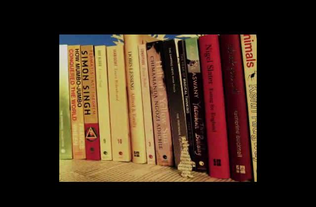 Clip doux pour les yeux : une ville de livres pour les 25 ans de 4th Estate