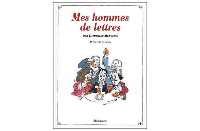 Coup de ♥ bédé : Mes hommes de lettres (C. Meurisse)