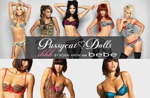 La lingerie Pussycat Dolls est dans la place !