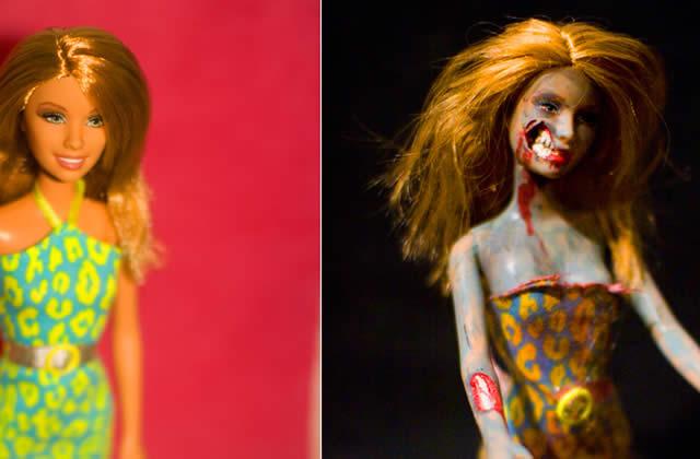 La Barbie Zombie, c'est la Barbie du bonheur