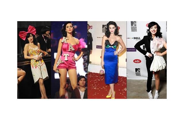 La robe «carrousel» de Katy Perry
