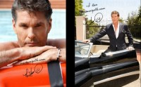 Le poster personnalisé de David Hasselhoff, Tom Jones ou Julio Iglesias…