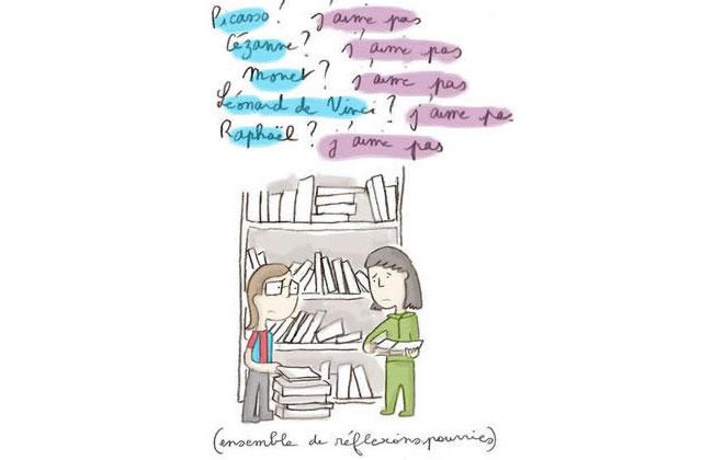 Leslie Plée et ses (més)aventures de libraire