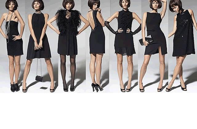Petites robes noires – Fêtes 2008