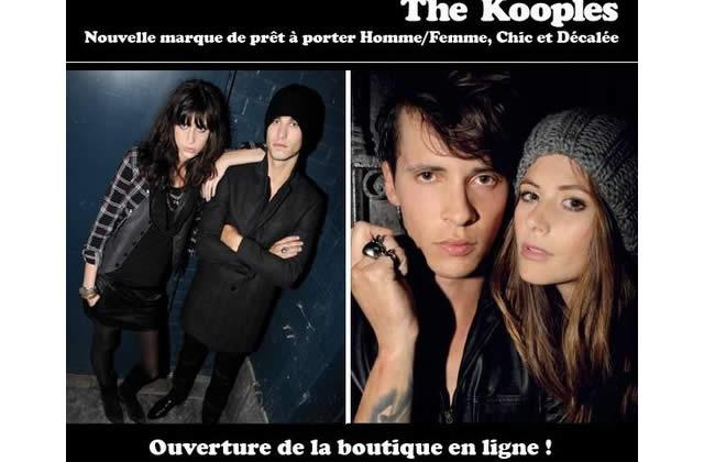 The Kooples présentent leur boutique en ligne