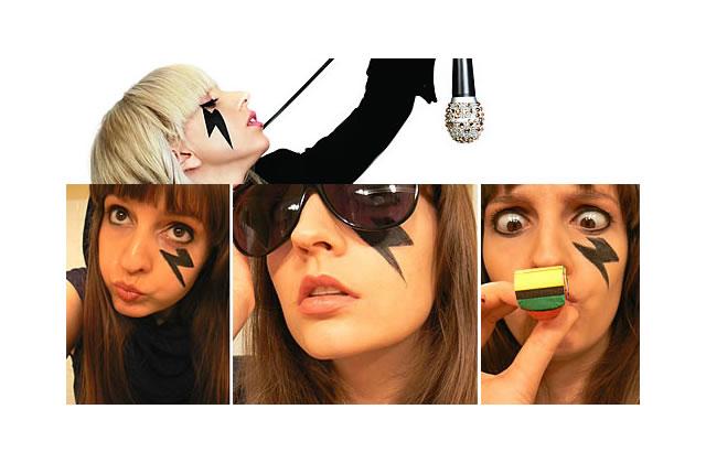Tuto maquillage : un éclair à la Lady Gaga