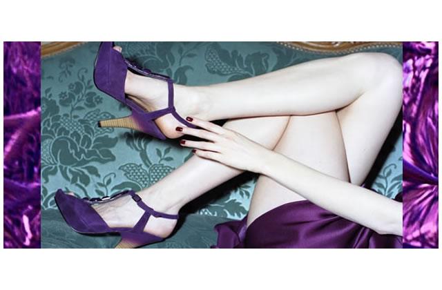 Chaussures à l'ultra-violet