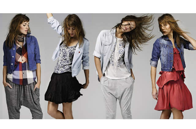 Le blouson en jean