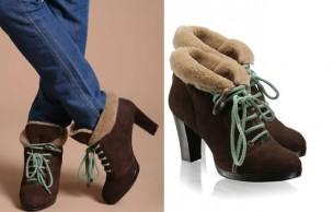 Les vilaines boots moumoutte
