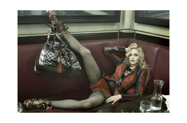 Madonna égérie toujours aussi impudique pour Vuitton : la suite des photos !