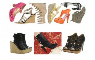 Tendances Chaussures Printemps été 2009