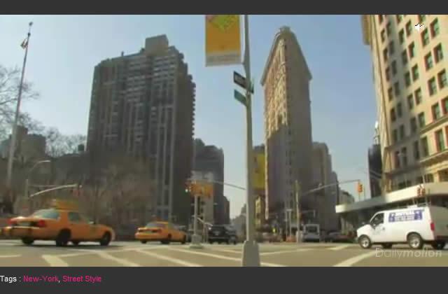 Un certain point de vue sur New York en 1'55