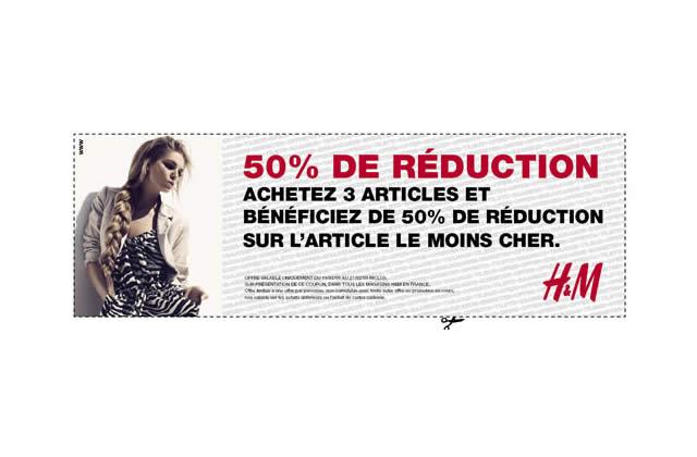 Bon Plan Mode : -50% sur un article H&M dès 3 achetés