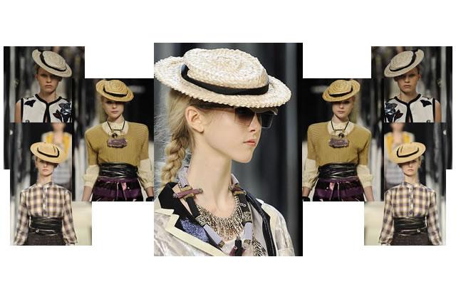 Canotier et Panama : la tendance chapeaux de paille