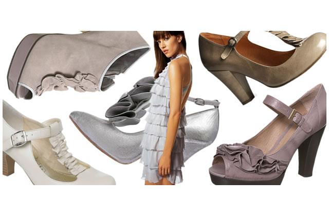 Froufrous : des chaussures à volants