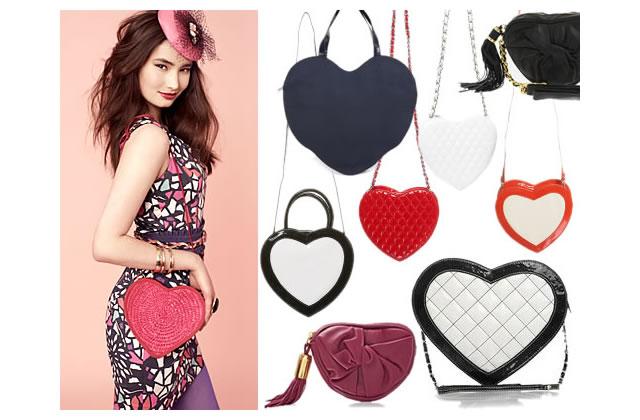 I (love) my bag : des sacs en forme de coeur