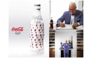 Manolo Blahnik rhabille Coca-Cola Light