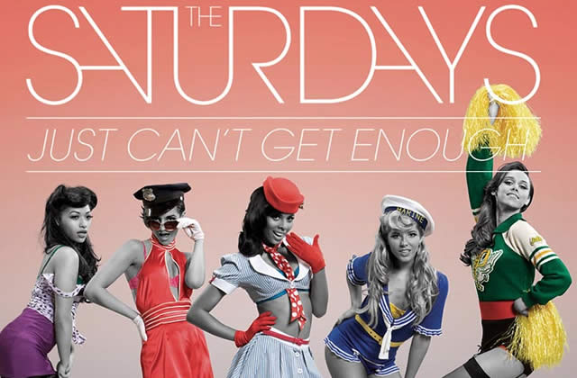 Pin-up Time : le nouveau clip de The Saturdays