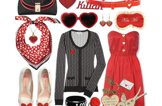 Le look Valentine