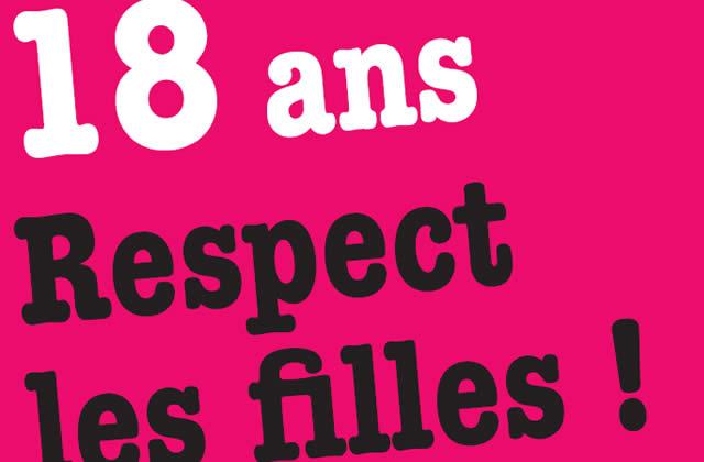18 ans, Respect les filles ! Le livret bien foutu pour les jeunes femmes
