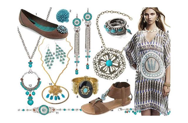 Bijoux : de la turquoise !