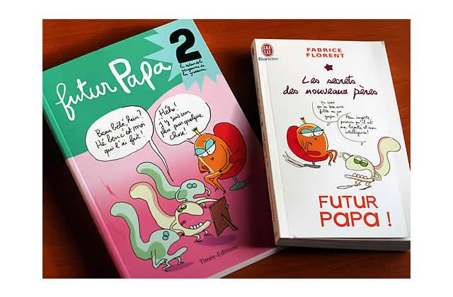 Idée-Cadeau : Futur Papa 2 et Futur Papa en poche !