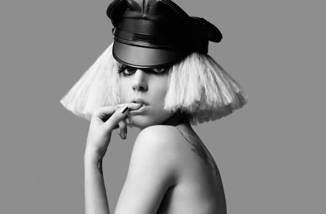 Lady GaGa lancera-t-elle la mode collants + rien ?