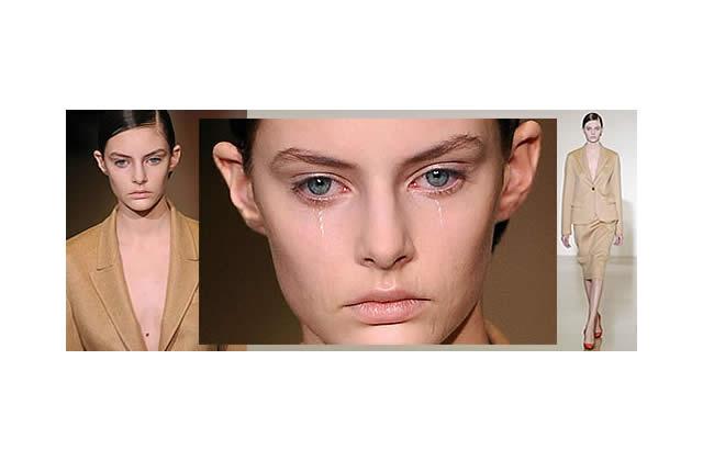 L'affaire Auguste Abeliunaite / Jil Sander : un mannequin pleure sur les podiums…