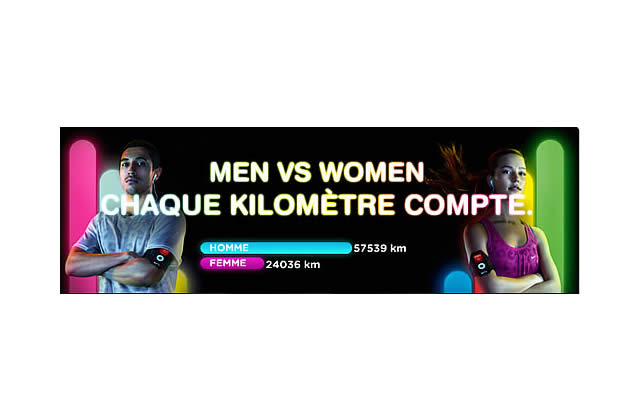 Nike+ – Men VS Women, c'est qui les + forts ?