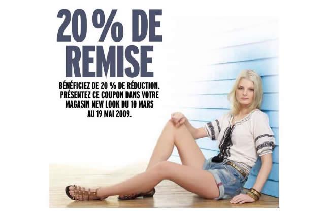 Bon Plan Mode : 20% de réduction sur tes achats New Look