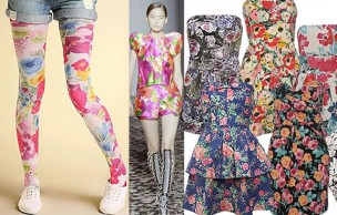 Lien permanent vers Collants, robes et vestes à fleurs : le printemps all over