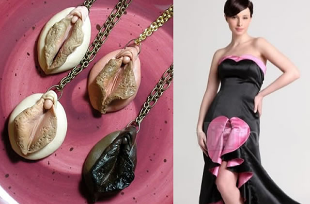 Colliers ou robe : jamais sans ma vulve !