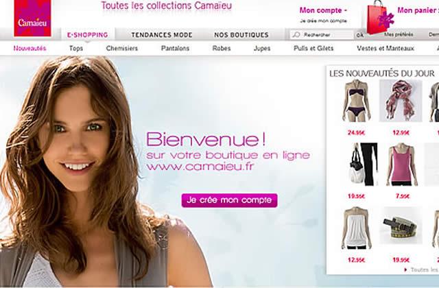 Camaïeu inaugure son e-shop