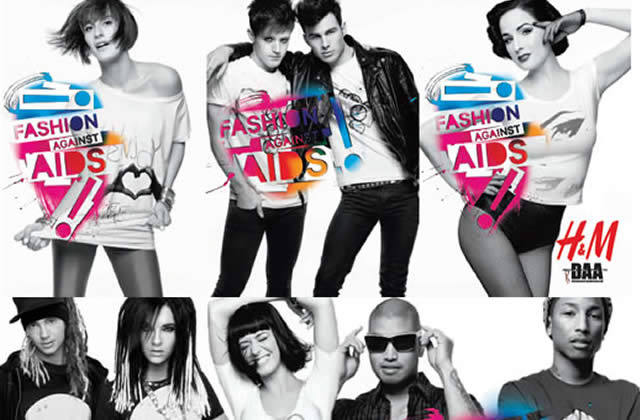 Collection Fashion Against AIDS bientôt chez H&M