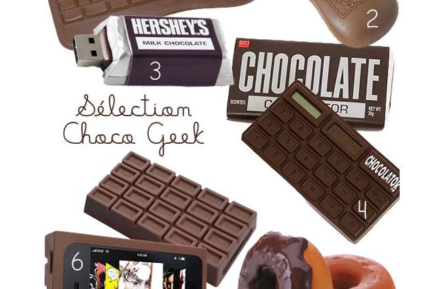 Sélection Choco-Geek