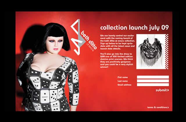 Collection Beth Ditto pour Evans… bientôt !!!
