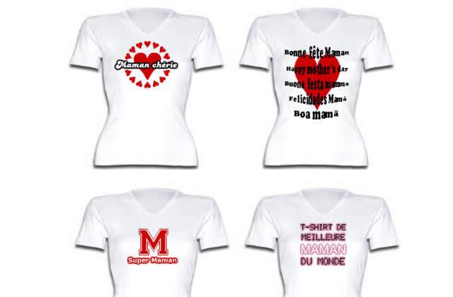 Idée Cadeau Fête des Mères – le tshirt personnalisable