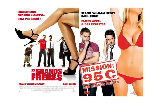«Les Grands Frères» devient «Mission 95C» en DVD. WTF ?!