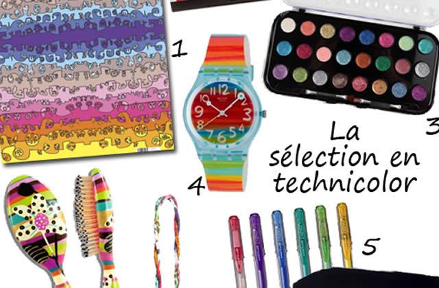 Sélection graphique #14 : technicolor !