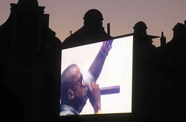Kanye West au Main Square Festival