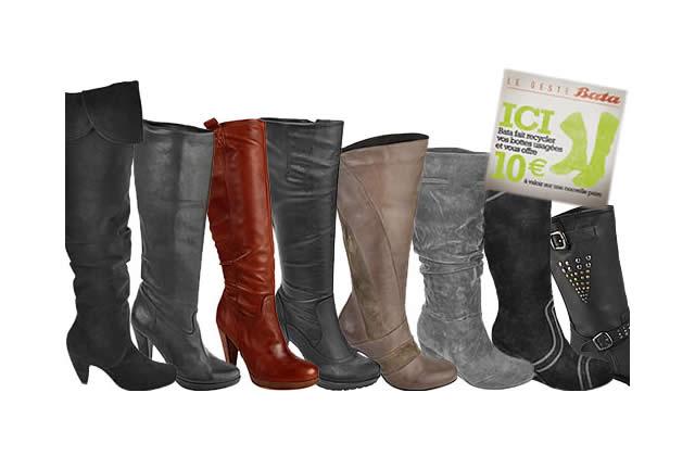 Bon Plan Mode: 10€ de réduc' sur des bottes Bata (et une bonne conscience en prime)