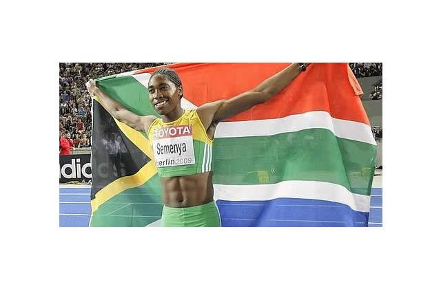 Caster Semenya, athlète sud africaine forcée de faire un test de féminité