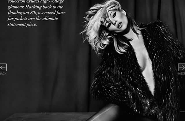 Kate Moss pour Topshop, les photos !