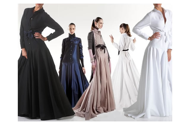 La longue robe chemise d'Alexis Mabille