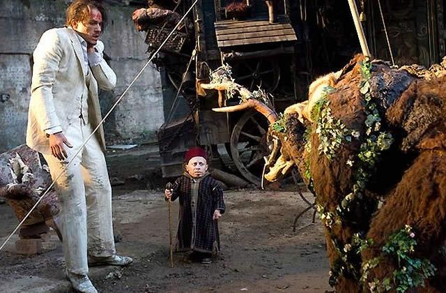 L'imaginarium du Docteur Parnassus, le dernier film de Heath Ledger.