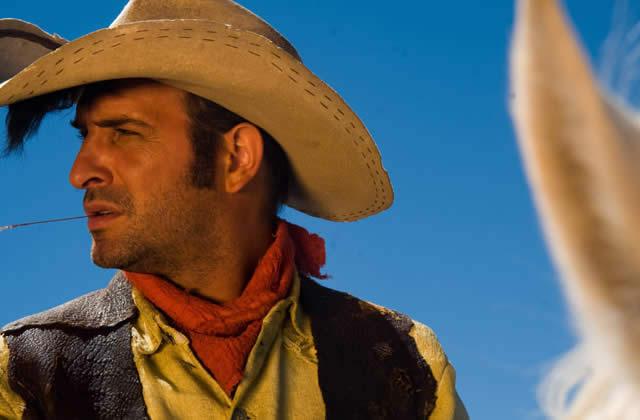 Lucky Luke au ciné avec Jean Dujardin
