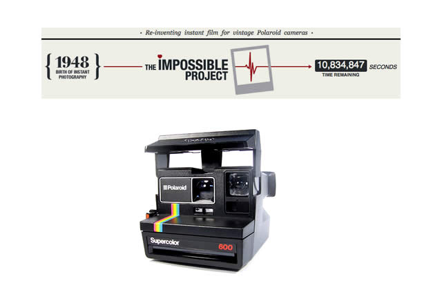 Polaroïd : The Impossible Project veut relancer la production de films