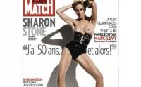 Sharon Stone topless en une de Paris Match