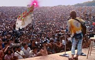 Les 40 ans de Woodstock : souvenir d'une époque…