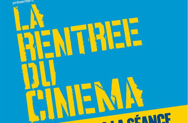 Rentrée du Cinéma : 4 eur la place jusque mercredi !